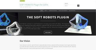 SoftRobots plugin website